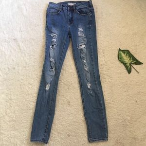 Pacsun distressed jeans
